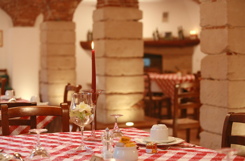 Sala colazioni Agriturismo Agriturismo la Filanda sul lago di Garda