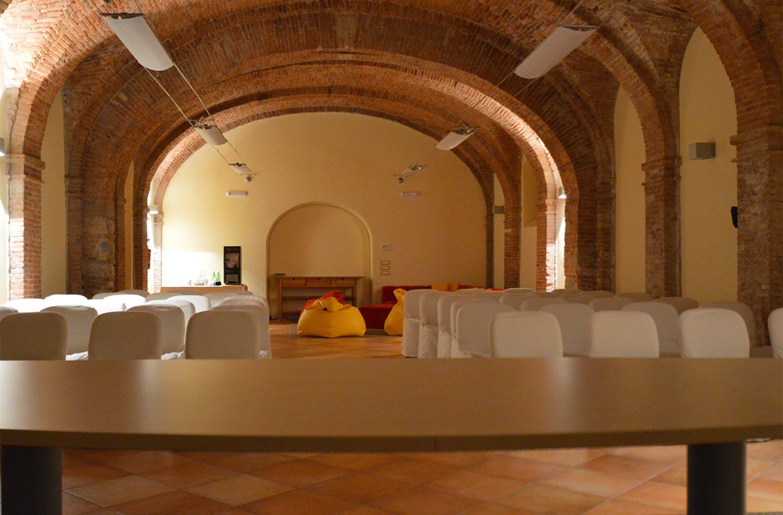 Congress hall Facility Agriturismo la Filanda on lake Garda Italy