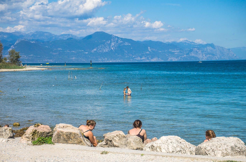 Lake Garda The territory Agriturismo la Filanda on lake Garda Italy